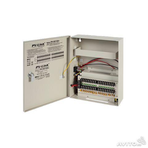 Блок питания PV-Link PV-DC10A+ для камер видеонаблюдения