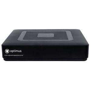Гибридный 4 канальный видеорегистратор Optimus AHDR-2004E